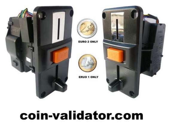 Euro moeda seletor   slot  aceitador  validador