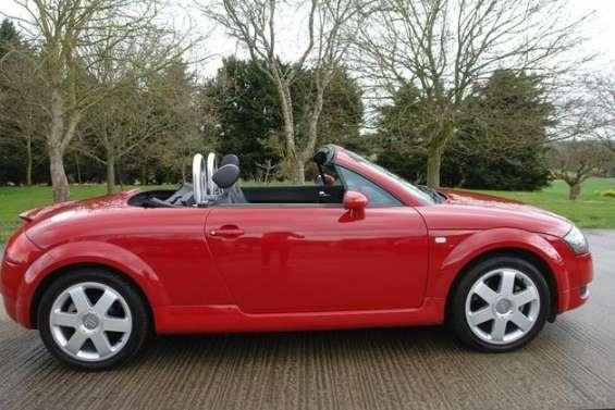 Audi tt 1.8 t roadster quaro 2dr