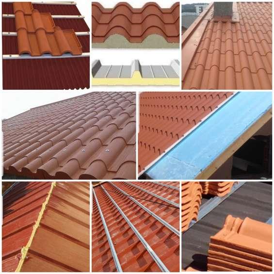 Reabilitação de telhados, remodelações, instalação painel sandwich
