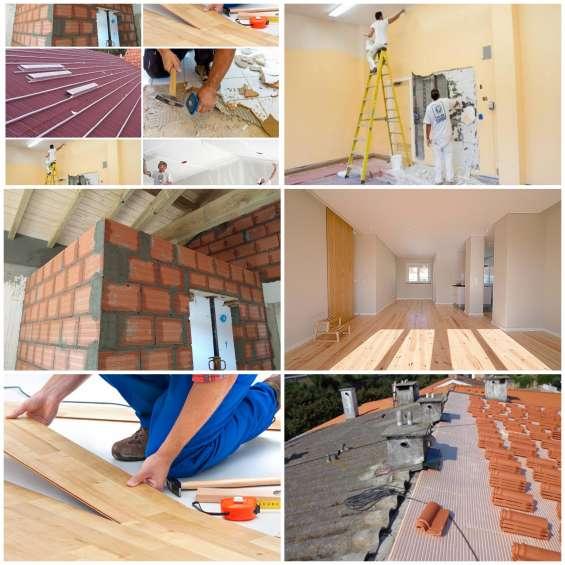 Construções para reformar sua casa, apartamento ou loja.