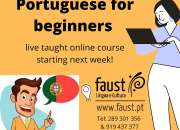 Portuguese online course