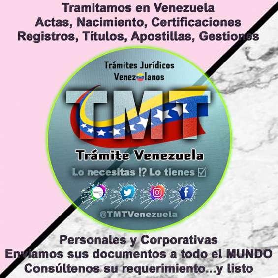 Tramites venezuela